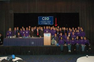 See? There I am at our annual CEO conference in Chicago.