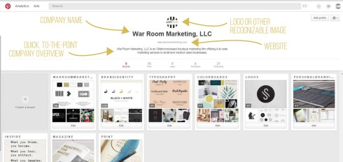 Pinterest WRM Boards
